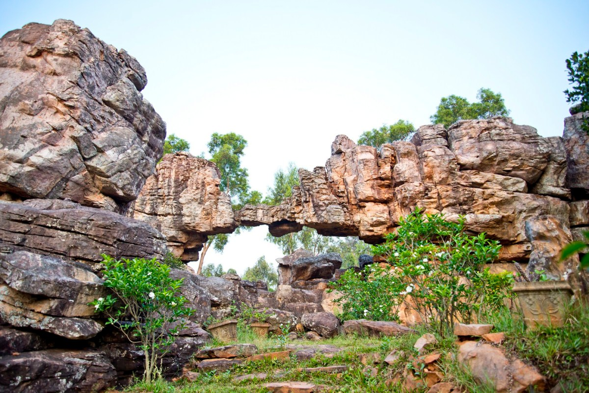 Natural Arch at Tirumala Hills